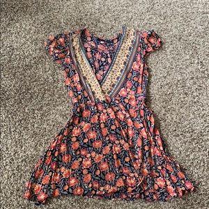 Easy light weight wrap dress
